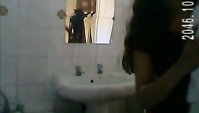 Amazing that's what she is and I love spying on her in the bathroom
