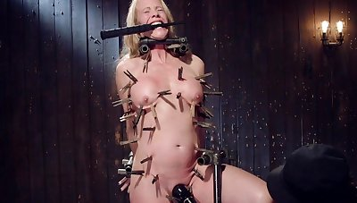 Nude busty mature hurt and dominated prevalent full clamping BDSM