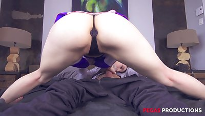 She rides a dick after a long time having a buttplug, what more do you want?