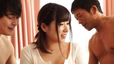asian coquette Hina foolish sexual intercourse scene