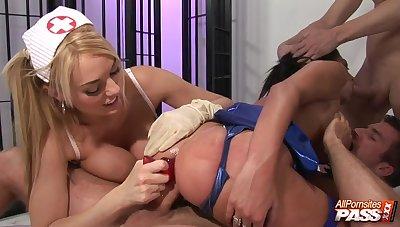 Busty porn stars having an orgy 4K - AllPornSitesPass