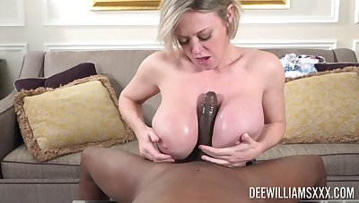 A real pleasure for this thick full-grown to look out for such BBC in both holes