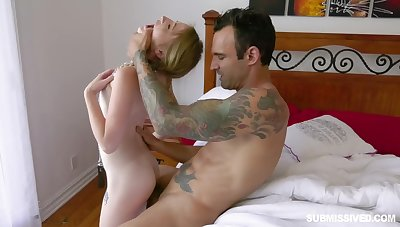 Petite newborn loves to be impaled on a hard cock coupled with lose concentration girl loves racy cocks