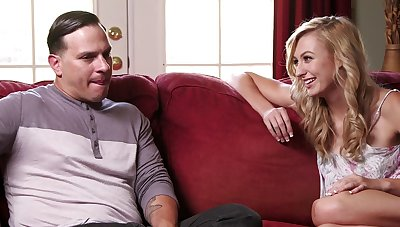 Teen Alexa Enhance offers alongside the brush tight pussy during taboo interlude