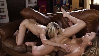 Aiden Ashley and Adira Allure are the fate of duo another's cunt