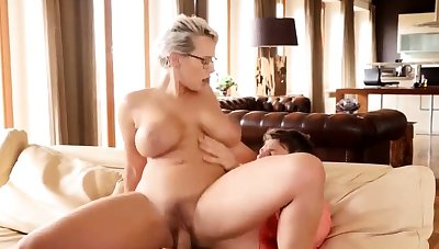 Underwriter Wicky fucked by stepson p2