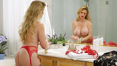 Unstinting boobs mature Casca Akashova enjoys getting fucked on the sofa